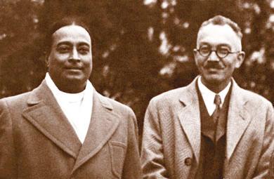 Yogananda & Dr. Lewis